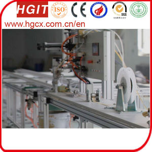 Aluminum Cavity Strip Feeding Foam Machine by Paper pictures & photos