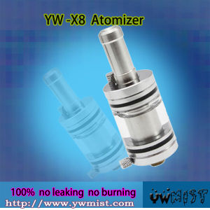 2014 Refillable and No Leaking Kts X8 Atomizer