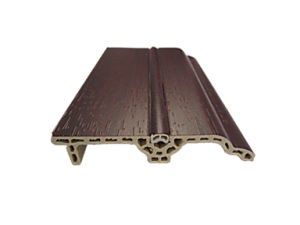 PVC Film Covered WPC Waterproof Skirting (PT-8015B) pictures & photos