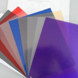 Gold PVC Plastic Sheet /Plate /Panel pictures & photos