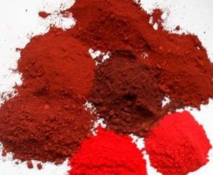Paint and Coating Use Iron Oxide Red
