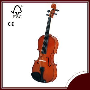 Solid Wood Violin for Beginner Use (LCV012W)