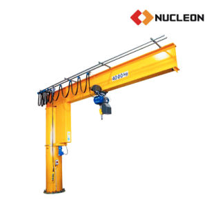 Nucleon Pillar Slewing Jib Crane 5 Ton with Chain Hoist pictures & photos