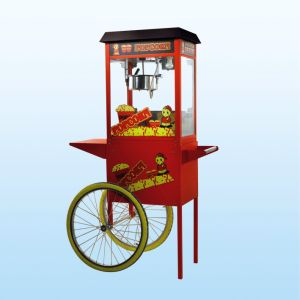 Popcorn Machine With Carts (LX8RB-C)
