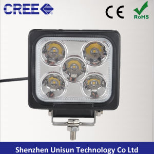 5inch 12V-60V 50W 5X10W 4000lm CREE LED Machine Work Lamps pictures & photos