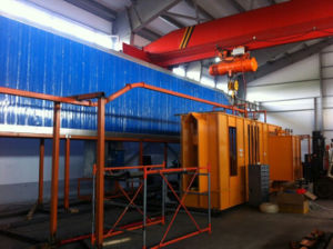 Electrostatic Automatic Powder Painting Line pictures & photos