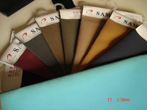 Shoe Leather-PU Nubuck Leather (MBF)