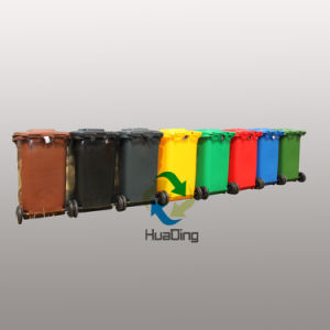 Outdoor Plastic Recycle Bin/Rubbish Bins/Garbage Bins From China pictures & photos
