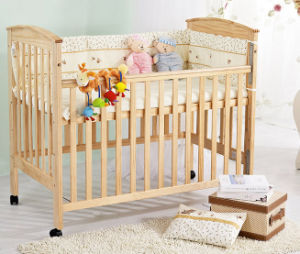 Solid Wood Baby Cribs