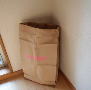 Brown Kraft Paper Bag Big Size Grocery Classified Bag Garbage for Christmas pictures & photos