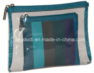 Clear PVC Cosmetic Bag Transparent PVC Cosmetic Bag Set