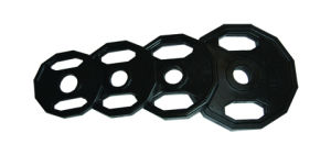 Deluxe Black Rubber Coated OP Plate (014710)