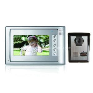 7 Inch Digital HD Color Video Door Phone with 600tvl IR Nightvision Outdoor Camera (RX-701C1)