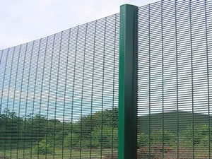 Security Fence (Galvanized or PVC Coated)