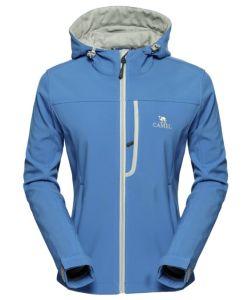 Waterproof Windproof Fleece Lined Softshell Jacket pictures & photos