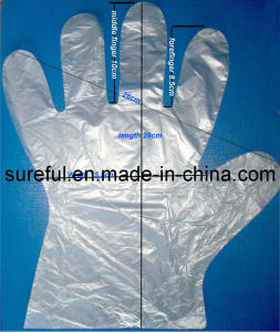 0.5g PE Glove/PE Glove 0.5grams pictures & photos