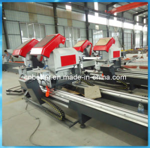 Digital Display Aluminum CNC Double Mitre Saw pictures & photos