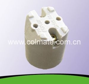 E26&E27 Ceramic/Porcelain Lamp Holder with CE Certificate pictures & photos