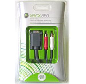 VGA & 2 Rcas Cable for xBox360