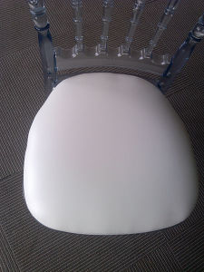 Clear Resin Napoleon Chair with PU Cushion pictures & photos