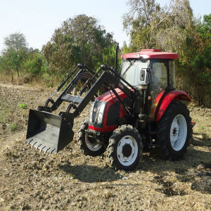 Farm Machinery F12+R12 Hh554 4X4 55HP Medium Tractors pictures & photos