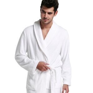 Xxxxl Size Unisex Hotel Terry Bathrobe, Long Gown pictures & photos
