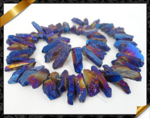 Rock Crystal Point Beads Jewelry Crystal (GB030)