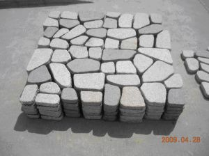 Paver Stones Mounting on Net