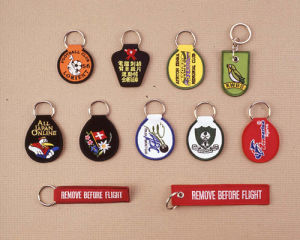 A02 Embroidered Keyholders pictures & photos
