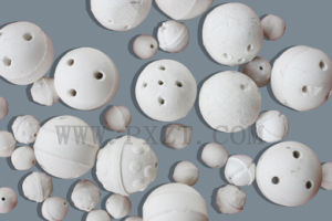 Perforated Ceramic Balls