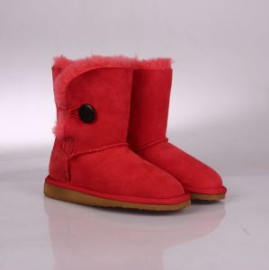 Red Winter Woman Hot Boot