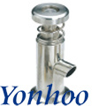 Sanitary Clamped Sample Valve (Use for Get Yoghourt Sample)