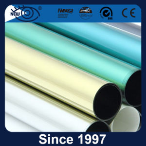 Polyester Anti-Glare Green Reflective Solar Window Tint Film for Building Glass pictures & photos