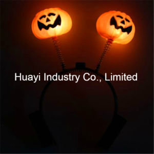 Pumpkin LED Light up Flashing Head Boppers pictures & photos