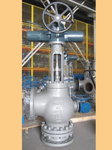 Wcb Globe Valves - Angle Pattern Slurry Valve pictures & photos
