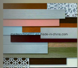 High Quality Wood Grain Fiber Cement Plank Siding Board pictures & photos