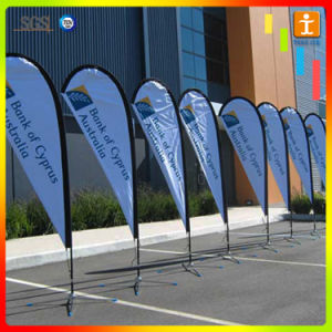 Promotional Products Set Beach Feather Banner Flag with Custom Printing pictures & photos