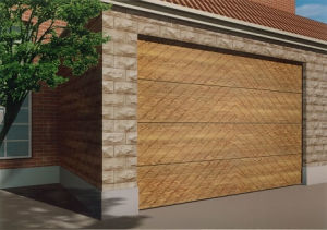 Wood Garage Door (RST-W110) pictures & photos