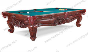 Carving Slate Pool Table (NS318)
