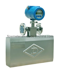 Dn40 Mass Flow Meter for Measuring Liquids (Water, Fuel, Rude Oil, Gasoline, Diesel, Solvent, Slurry)