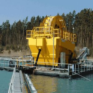 Bucket Wheel Sand Washing Machinery