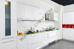 N&L Modern Home Furniture Wood Kitchen Cabinets with MFC Board pictures & photos