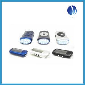 Solar Flashlight, Solar LED Light, Solar Rechargeable Lantern, Soar Charger Flashlight