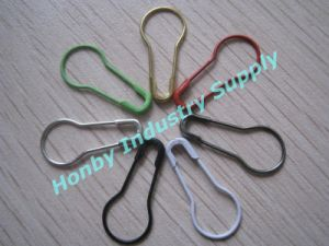 22mm Coilless Brass Pear Shape Safety Pin for Hang Tags (PSPT)