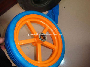 Factory Supply PU Foam Wheel pictures & photos