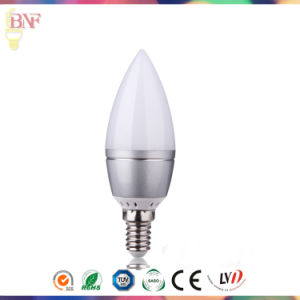 Cheap Transparement C37 LED Factory Candle Bulb with Daylight E14 pictures & photos