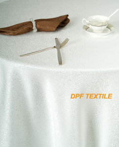 Table Cloth&Napkin &Hotel Linen (DPR2119) pictures & photos