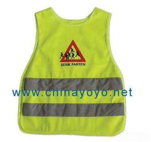 Safety Vest with Silk Screen Printing (UU203)