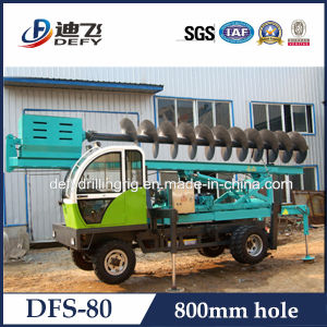 800mm Hole Diameter Tractor Small Screw Pile Machine pictures & photos