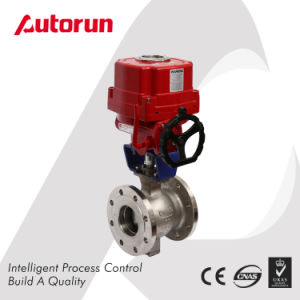 V Type Ball Valve with Electric Actuator pictures & photos